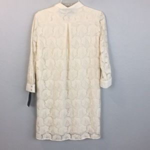 Zara Dresses - Zara NWT Ivory lace overlay dress - M
